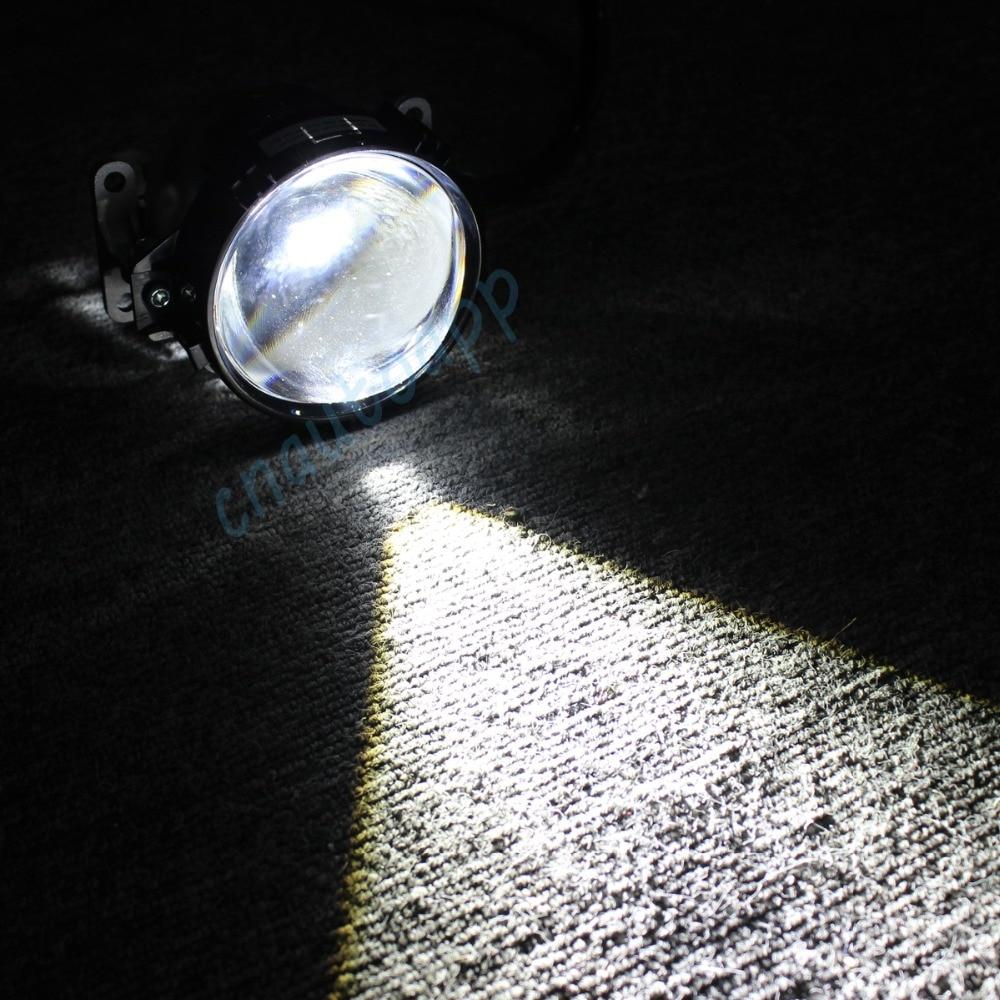 Mobil LED Lampu Auto Lens headlight 90 W Hi / Lo Beam 3.0 Inches - Lampu mobil - Foto 3
