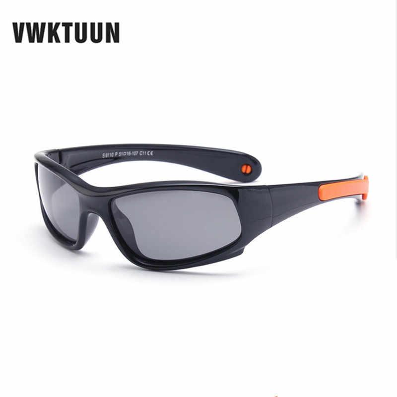 VWKTUUN бренд супер легкий дети поляризационные солнцезащитные очки для  женщин детские спортивные Защита от солнца очки ed060efb23d