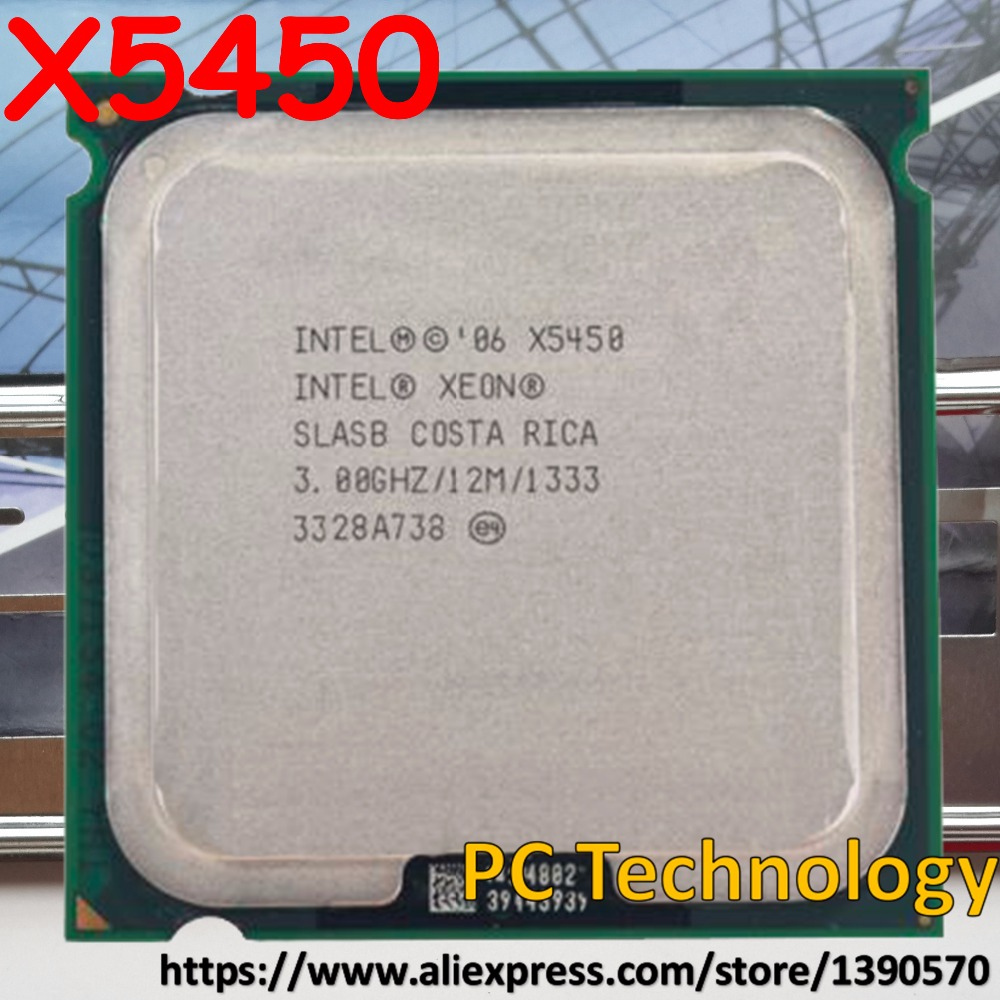 Intel X5450 works on LGA775 no need adapter Xeon Origina 3.0 GHz/12M/1333 Mhz