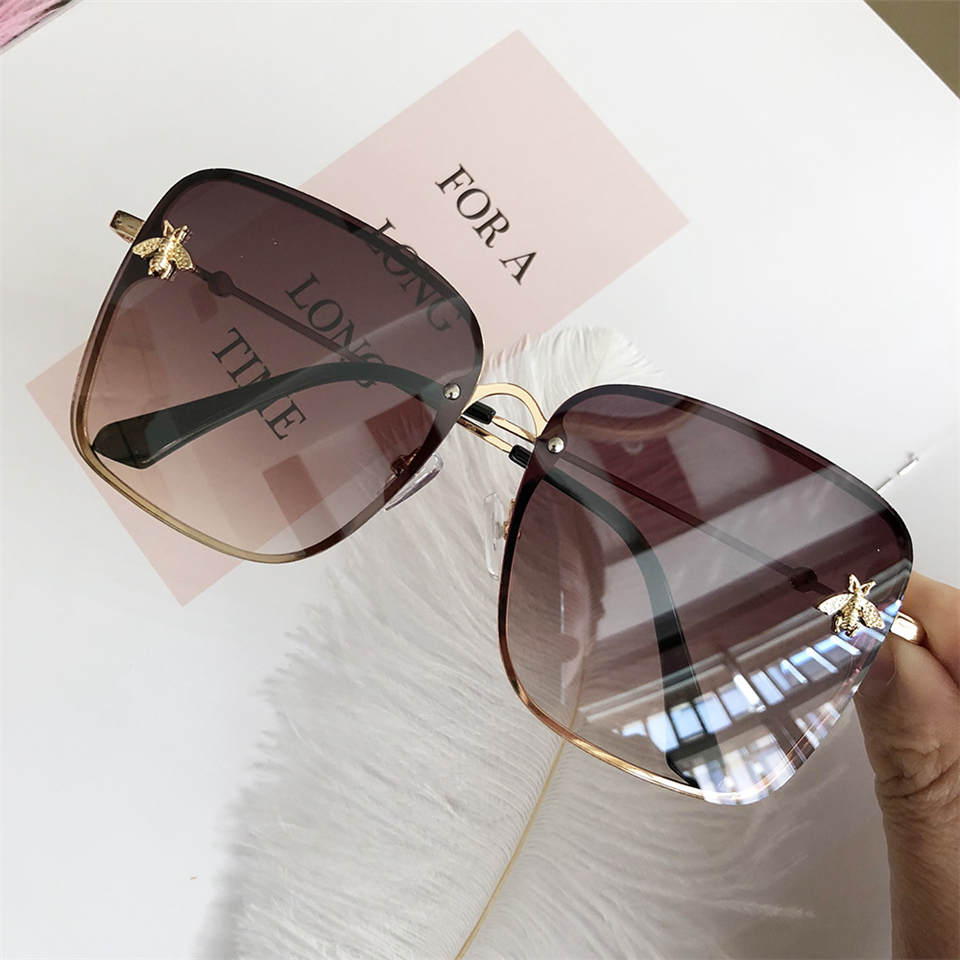 2019 Oversize Square Sunglasses Men Women Celebrity Sun Glasses Male Driving Superstar Luxury Brand Designer Female Shades UV400 (13)