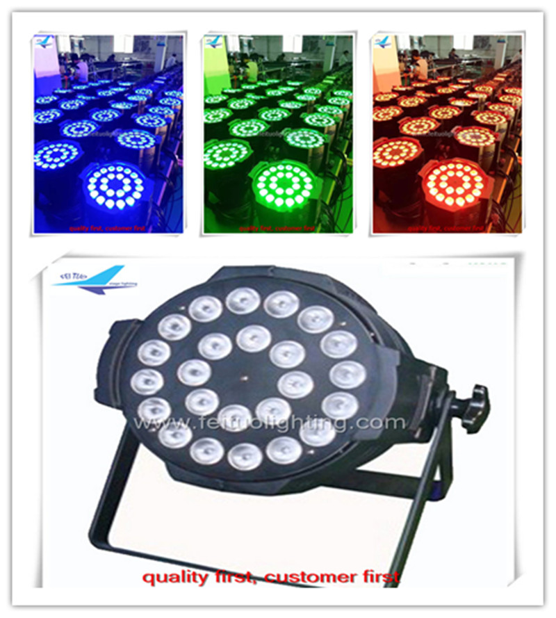 8 pieces/lot 2017 hot new products dmx par led 24x10 rgbw led par64 light for Disco church night clubs stages
