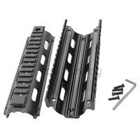 Taktische Full Metall 7 zoll Quad Rail System für AR15/M4 Carbine mit Stand 20mm Schienen-in Zielfernrohrmontagen & Zubehör aus Sport und Unterhaltung bei