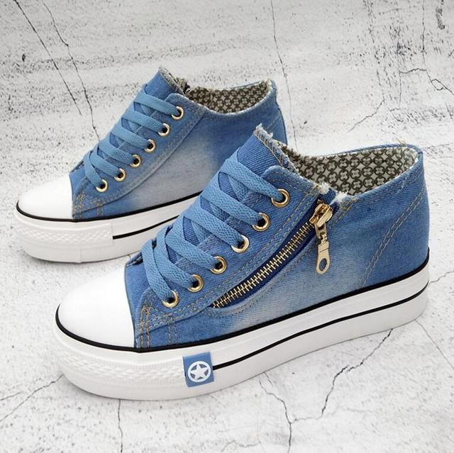 Denim Casual Shoes  Women's