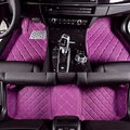 Aa personalizada tapetes especial para mitsubishi asx outlander lancer galant 5 asientos impermeables alfombras