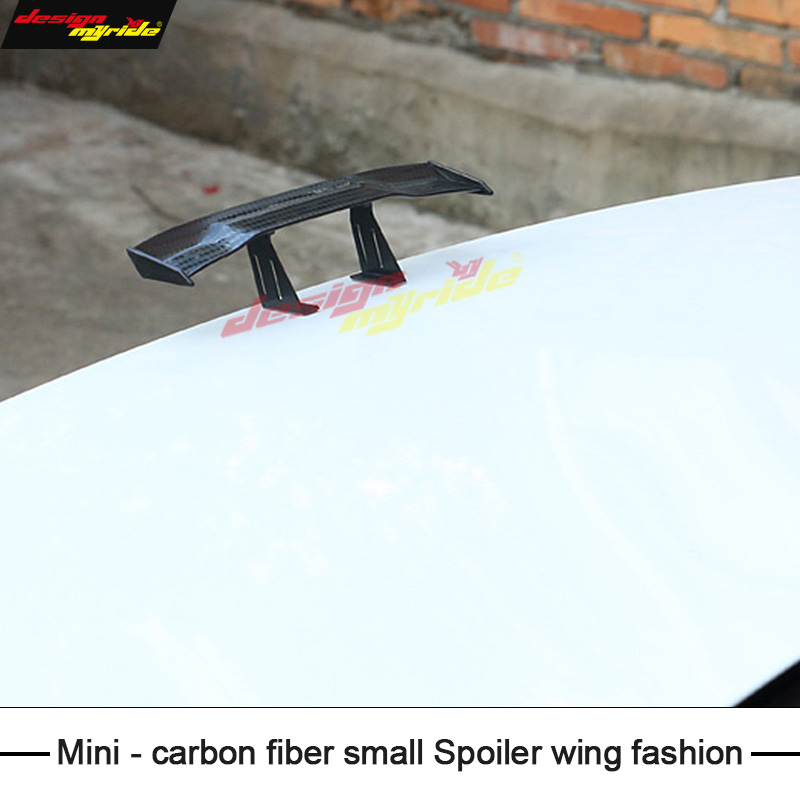 High quality Automobile general purpose mini spoiler Carbon Small tail Fir For KIA K4 3 Sedan car general Decoration Car styling in Chromium Styling from Automobiles Motorcycles