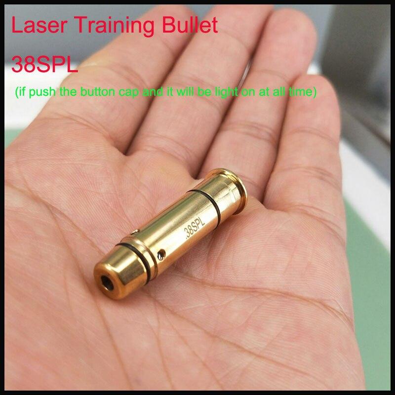 38spl laser munição laser bala instrutor laser