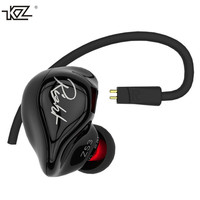 Original KZ ZS3 Professional HIFI In Ear Earphones Noise Isolate Ear Hook Stereo Earphones With Mic