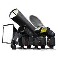 Godox sa-k6 6 in 1 fotografie speedlite zubehör kit softbox für flash farbe filter lichtreflektor wabengitter licht bea