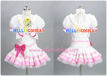 Japanese Anime Outfit Suite PreCure Cospay Cure Rhythm Costume H008