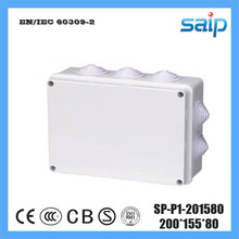 Saip ABS Switch Junction Box With 10 Holes SP-P1-201580 200*155*80