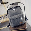 Canvas Backpacks Women Men Shoulder Rucksack School Bag For Girls Ladies Casual Travel Bags Bolsas Mochilas