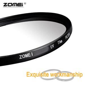 Image 5 - ZOMEI 40.5 49 52 55 58 62 67 72 77 82 86mm Ultra Violet UV Filter Filtro Lens Protector for SLR DSLR camera