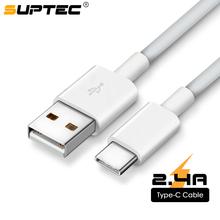 SUPTEC rodzaj usb C kabel do Samsung S9 S8 szybka synchronizacja danych USB-C przewód do ładowania ładowarka usb do telefonu przewód dla Xiaomi Mi9 Redmi Note 7 tanie tanio USB A 2 4A Typu C