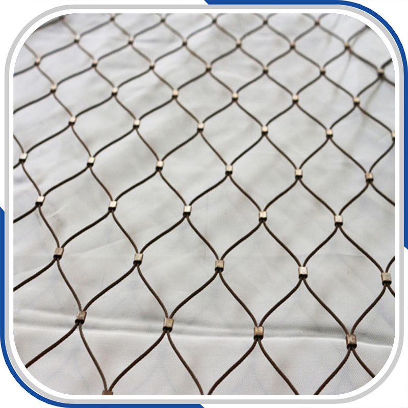 Pliable inox balustrade and railing cable wire mesh -in Door ...