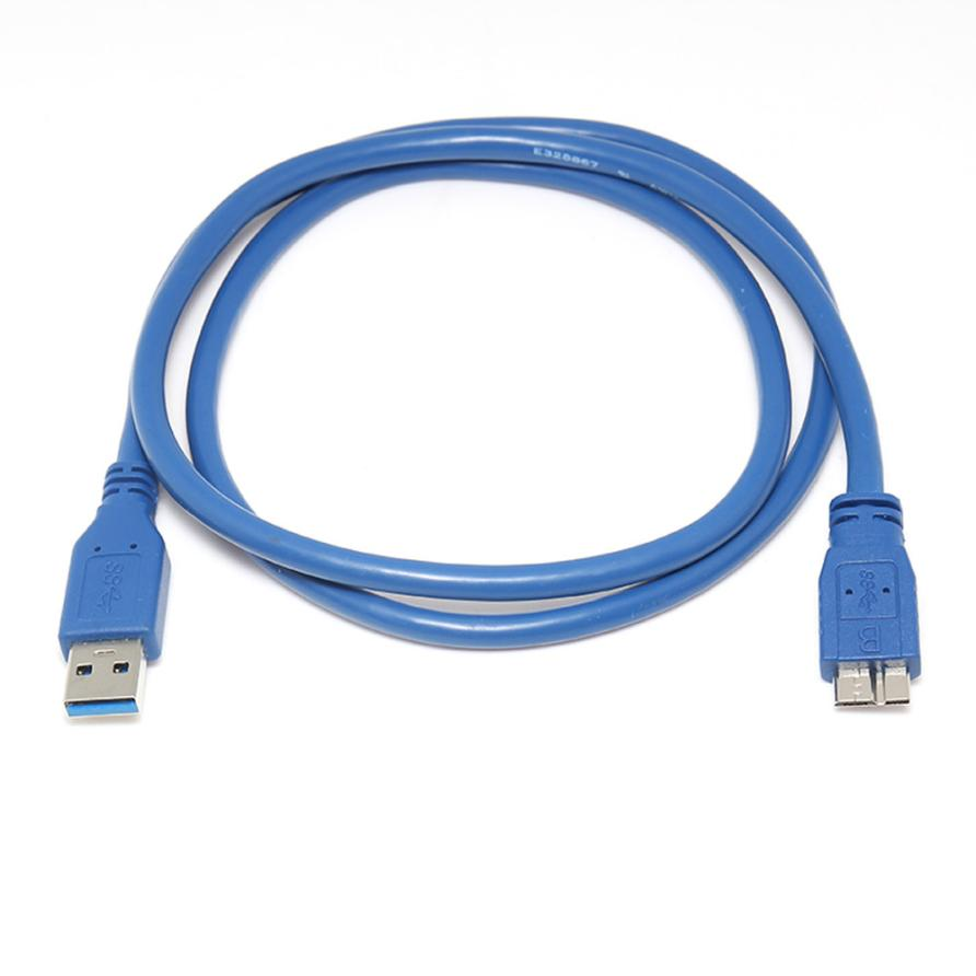 Drop shipping USB 3.0 Type A Male to Micro B Male Extension Cable Cord Adapter Sep 26  adroit 2016 new 1pc usb 3 0 type a male to micro b male extension cable cord adapter 50cm 100cm 180cm may12 drop shipping