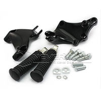 Neverland Rear Passenger Foot Peg Seat Mount Bracket Motorcycle Foot Rests For Harley Sportster XL883 1200