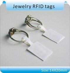 Frete grátis 100 pcs I. code sli ISO-15693 RFID tag 13.56 MHZ produtos de jóias etiquetas anti-falsificação