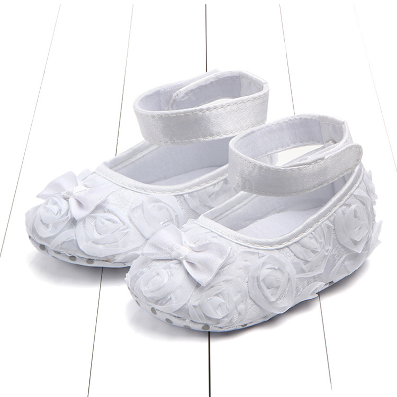 Newborn Infants Baby Girl Soft Crib Shoes Moccasin Prewalker Sole Shoes