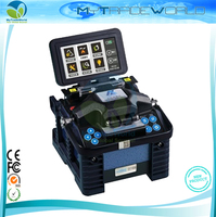 DHL Free Shipping ELOIK ALK 88 7s Fast Splicing FTTH Fiber Optic Fusion Splicer Eloik ALK88 Welding Machine