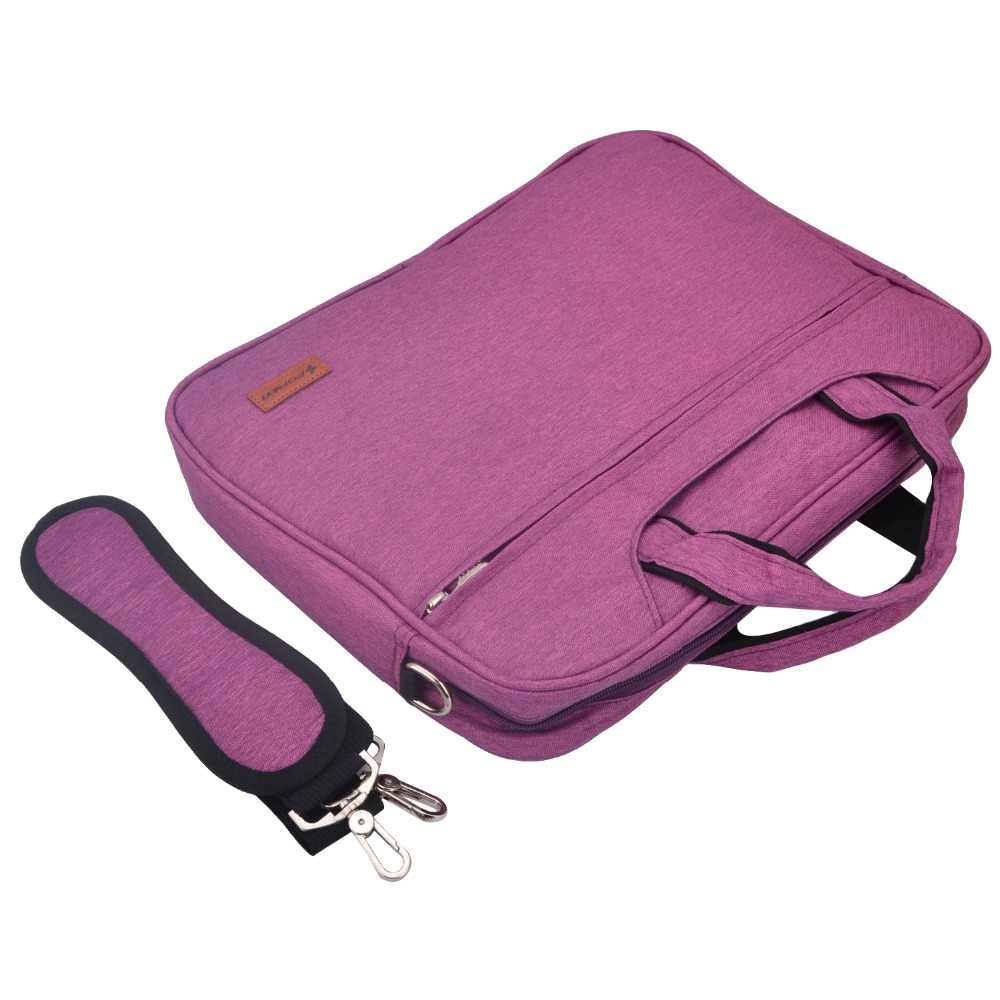 Cartinoe Tas Laptop 13.3 14, 15.6 Inci Tahan Air Tas Notebook untuk Macbook Air Pro 13/15 Case Bahu/Messenger Casing untuk Mac Buku