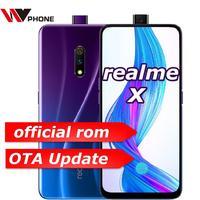 Realme x 4G LTE 4 Гб 64 Гб Snapdragon 710 Восьмиядерный 6,53 дюймовый экран 3765 мАч двойная задняя камера Сотовый телефон