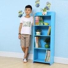 Ручки для шкафа мебель простой современный деревянный детский книжный шкаф книжная полка estanterias infantile детский шкаф для хранения горячий