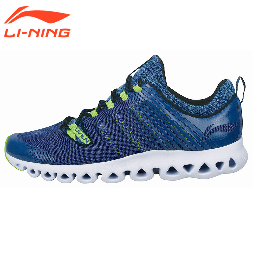Li-Ning Running Shoes Men Sneakers Cushion Breathable Design LiNing Cushioning Classic Arc Series Sport Sneaker ARHM009 LiNing li ning men indoor training shoes breathable cushioning anti slippery hard wearing sneakers lining sport shoes asnh009 yxx003