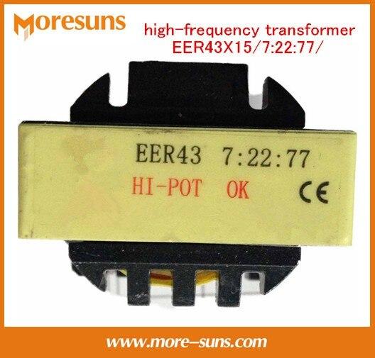 Onduleur machine de soudage argon soudage à l'arc plasma à haute fréquence transformateur EER43X15/7: 22: 77/haute tension transformateur Conseil