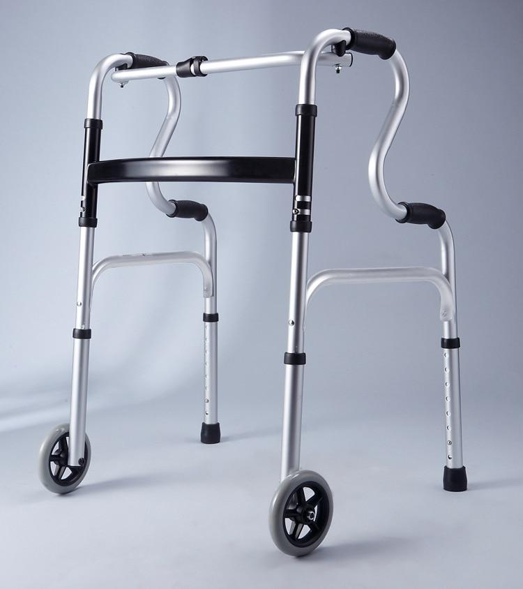 1x plegable de aluminio ligero Rollator Walker / Zimmer para caminar ...