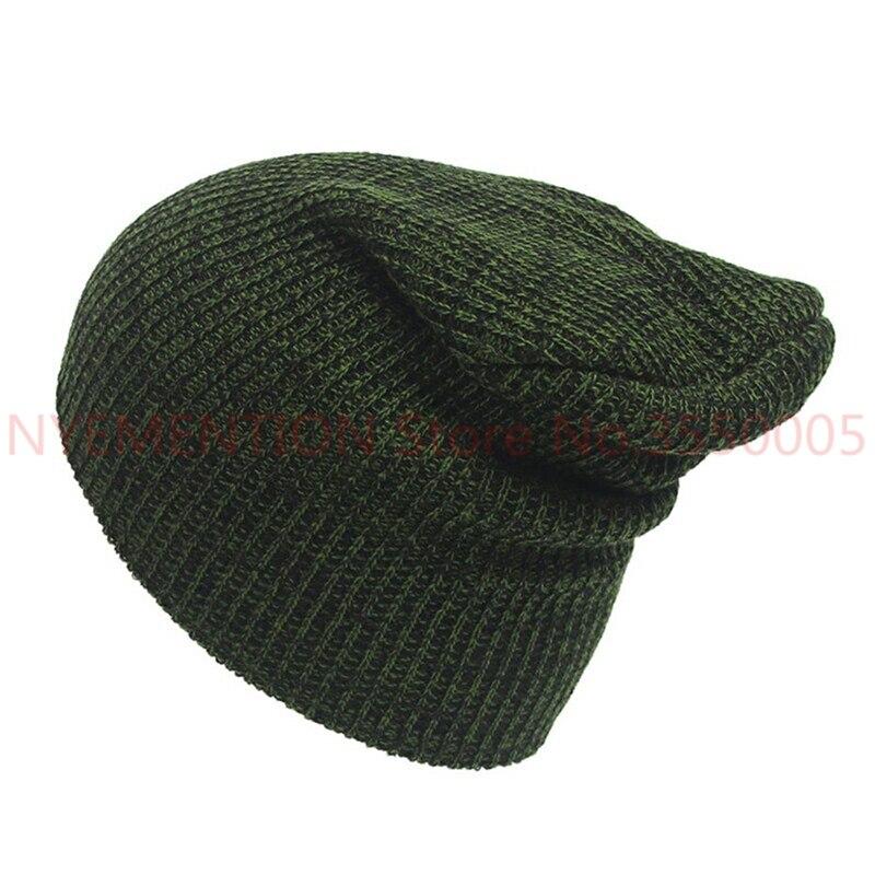 Unisex Hat Winter Hats Cap Men Women Hats Stripe Knitted Hip Hop Male Female Warm Winter Hats 100pcs