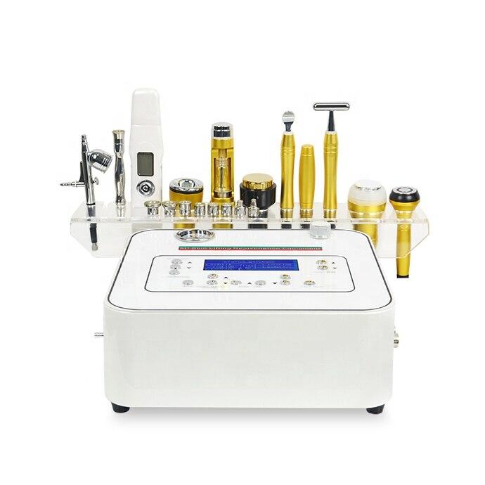 10 dans 1 machine multifonctionnelle de diamant de microdermabrasion du visage rf d'activation d'énergie d'équipement de beauté/peau à vendre