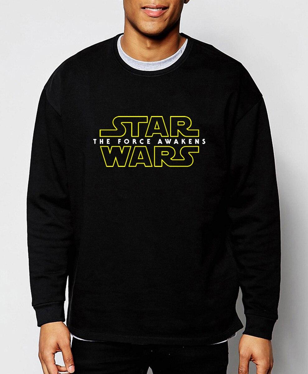 hot sale Star Wars men sweatshirt 2019 spring winter warm fleece hoodies men fashion casual streetwear loose fit brand clothing