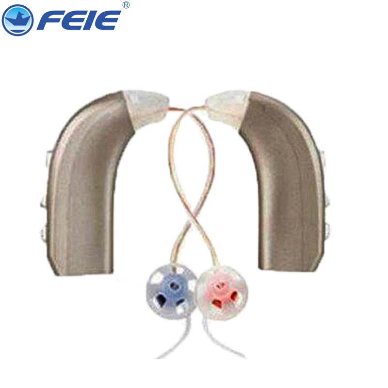 USB Rechargeable Hearing Aid Best Sound Enhancement Deaf Aid Amplifier 2 Channels Open Fit Answer The Phone Ear Caring