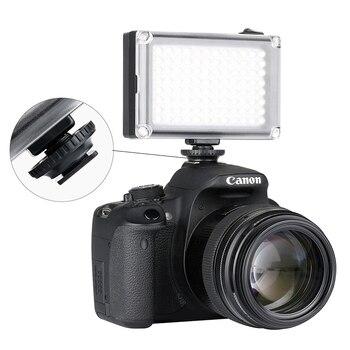 Ulanzi 96 dslr led video light on camera photo studio lighting hot shoe led vlog fill light lamp for smartphone dslr slr camera