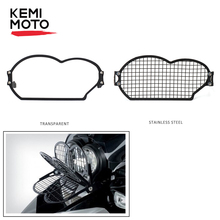 KEMiMOTO for BMW R 1200 GS 2006 2007 2008 2009 2010 2011 2012 Stainless steel Headlight Protector Guard Grill Cover