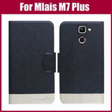 Hot Sale! Mlais M7 Plus Case New Arrival 5 Colors Fashion Flip Ultra-thin Leather Protective Cover For Mlais M7 Plus Case
