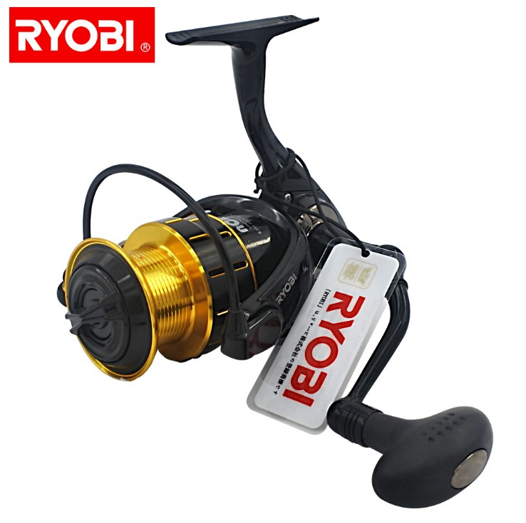 <font><b>RYOBI</b></font> fishing reel MATURITY <font><b>1000</b></font>/2000/3000/4000 spinning reel metal lure fishing wheel 5.1:1 folding handle smooth 100% original image