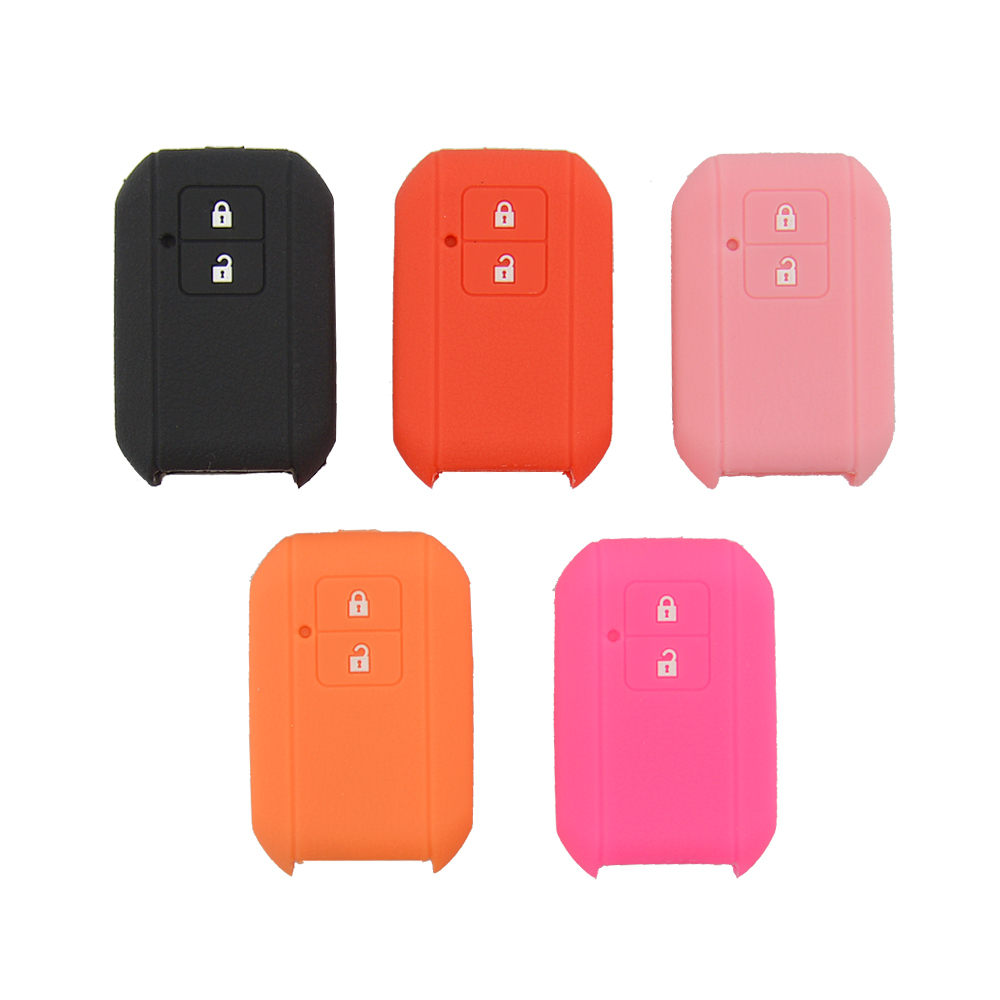 New Styling 2 Buttons Soft Silicone Rubber Car Key Cover Case For Suzuki Swift 2017 2018 Skin Auto Remote Key Case Shell HolderNew Styling 2 Buttons Soft Silicone Rubber Car Key Cover Case For Suzuki Swift 2017 2018 Skin Auto Remote Key Case Shell Holder