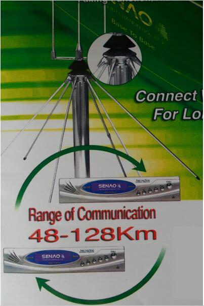 256 Canaux pour le choix la dernière super longue portée sans fil téléphone système SN-668 PLUS sans fil PBX téléphone système