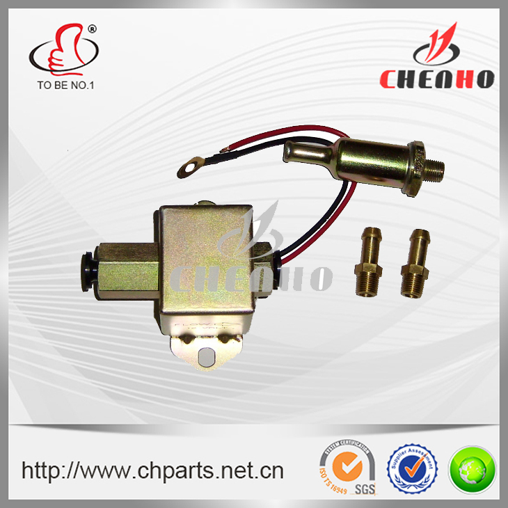 Ruian Chenho Auto Electronic Co., Ltd. Diesel Petrol 12V Facet Red Top Square Electric Fuel Pump 40104 40106 40107 P502 Low Pressure External For Ford Carburetor