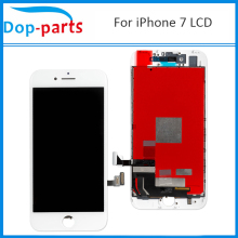 10Pcs High Quality LCD For iPhone 7 LCD Display Touch Screen LCD Assembly Digitizer Glass LCD Replacement Parts DHL Shipping high quality full lcd display touch screen digitizer assembly for htc hd2 t8585 replacement parts free shipping