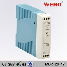 (MDR-20-12)Singe ausgang DIN Rail power versorgung 20w transformator 12v dinrail dc netzteil