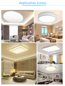 Led Module Light AC220V 230V 240V 12W 18W 24W Replace Ceiling Lamp Lighting Source Energy Saving Convenient Installation