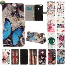 Wallet Case For Huawei Y6 Prime 2018 ATU-L31 AUM-L29 Leather Flip Case Phone Cover For Honor 7A Pro ATU L31 AUM L29 Magnetic Bag недорого