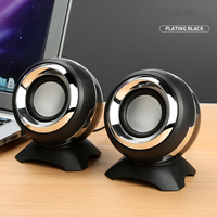 Mini Portable Computer Speaker USB Stereo Speakers Line Controller Soundbar With For PC Laptop Notebook Phone