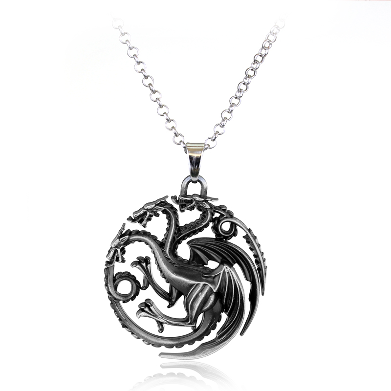 us jewelry house new styles of thrones necklace family crest casterly 7206