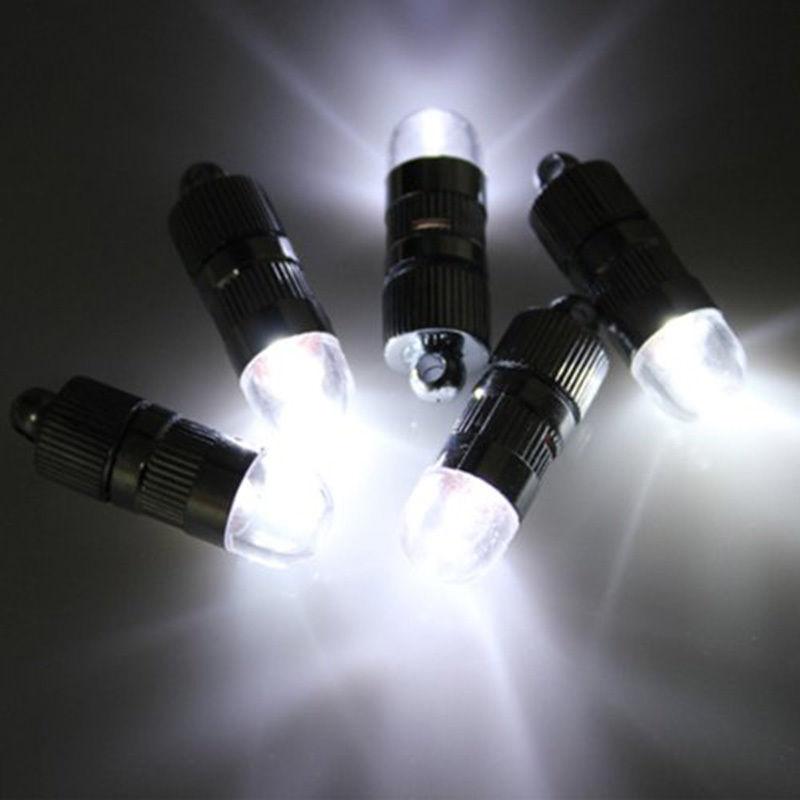 Mini 12x LED Partei Beleuchtet Für Papier Laternen Luftballons Floral Dekoration licht Weiß