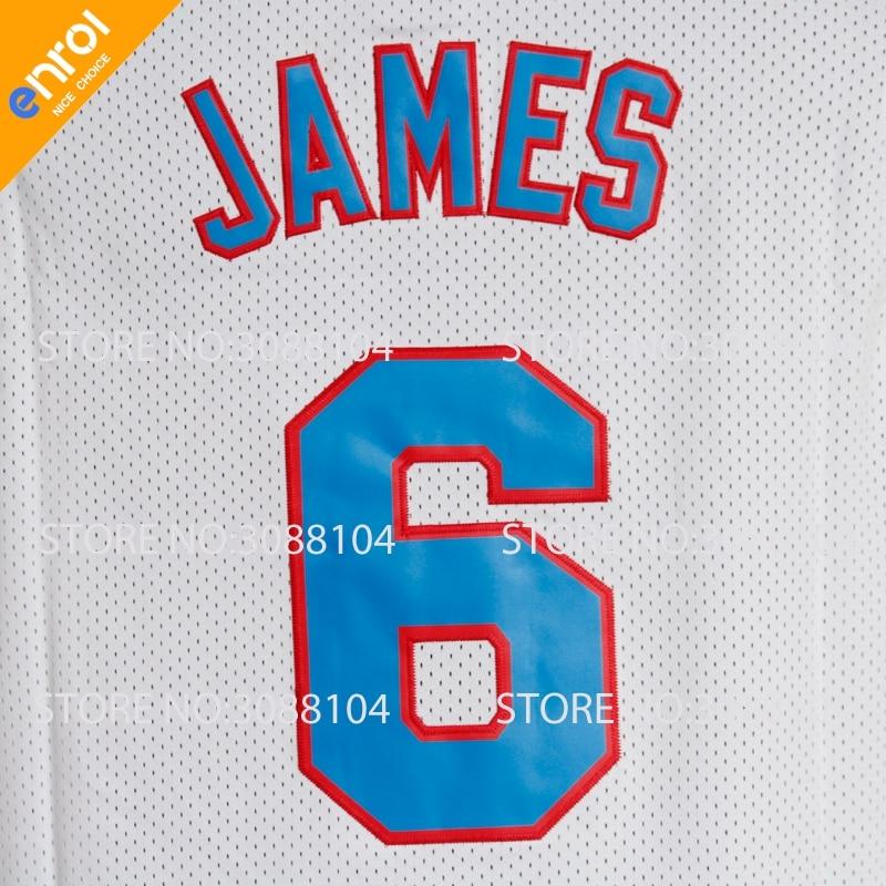 azaao Space Jam TuneSquad Basketball Jerseys Lebron James Jersey 6