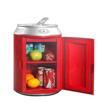 11L Canned Mini Fridge Auto Freezer Portable Refrigerator Cooler Heater Car Home Daul Use Fridge Household Icebox