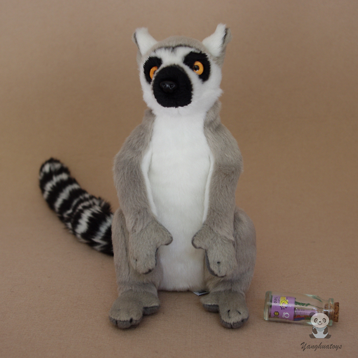 Hot Sale Simulation Animals Plush Children S Gift Toys Ring Tailed